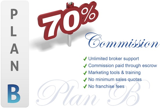Sunset Ridge, CA 100% Commission Low Monthly Flat Fee Per Transaction Program