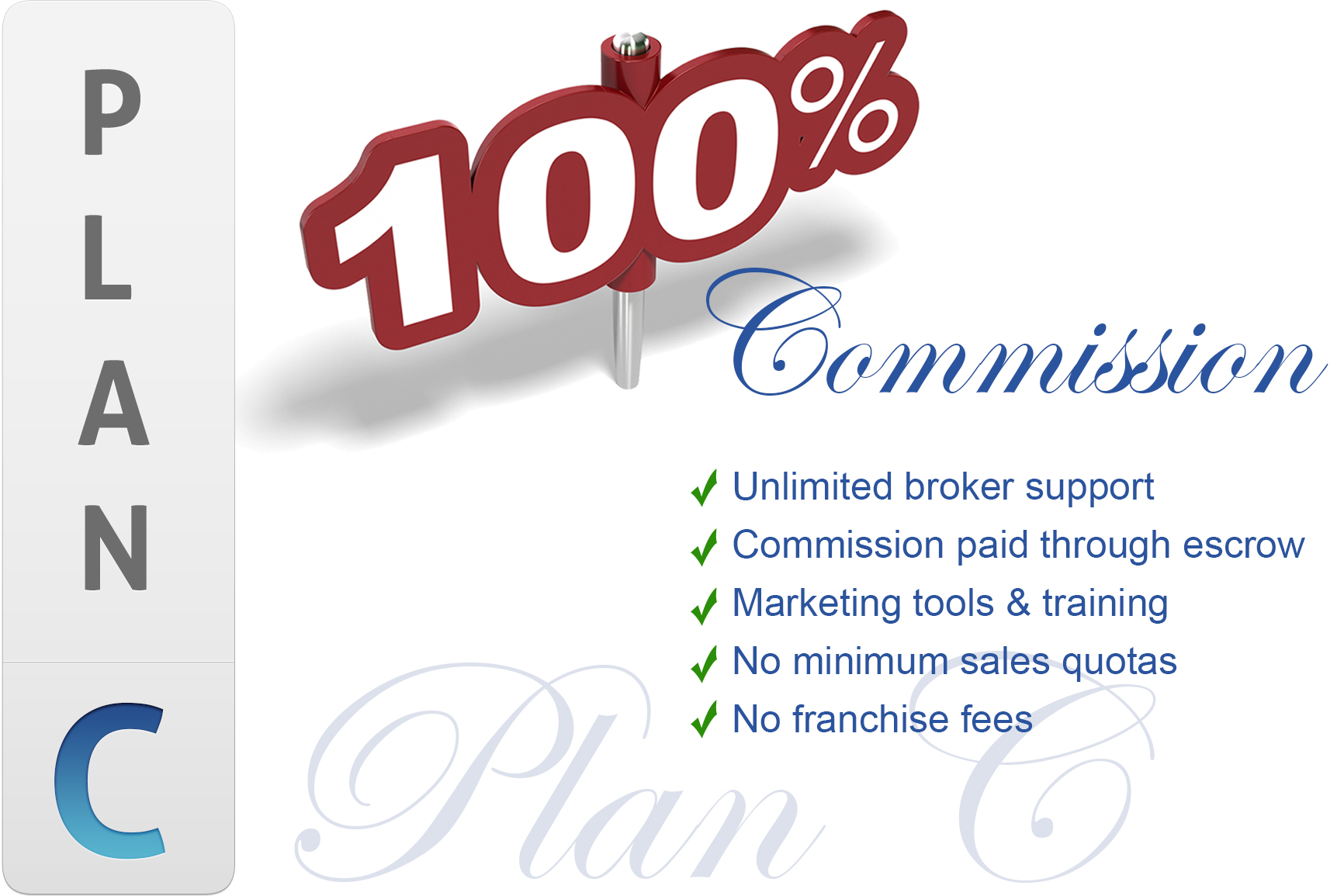 Sunset Ridge, CA Monthly Fee 100% Commission Program